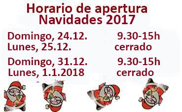 horario navidades 2017